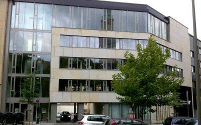 Neubau eines fünfgeschossigen Bürogebäudes